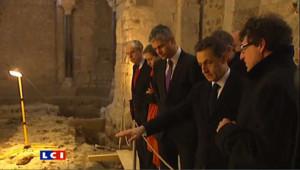 """Sarkozy célèbre """"l'héritage chrétien de la France"""""""