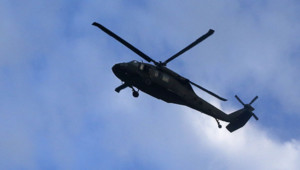 Un hélicoptère UH-60 Black Hawk de l'armée américaine/Image d'archives