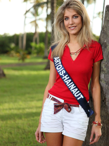 Miss Artois-Hainaut 2009 - Astrid Ponchel : Candidate Miss France 2010