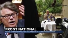 """FN : """"Un coup de vote dans l'urne"""" selon Collard"""