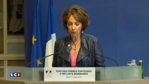 """Implants mammaires : Touraine appelle à """"ne pas céder à une inquiétude excessive"""""""