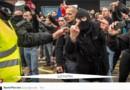 Manifestation anti-migrants à Calais : l'arrestation d'un général fait réagir sur les réseaux sociaux