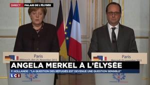 """Merkel : les attentats """"ne s'adressaient pas seulement à Paris"""" mais à notre """"mode de vie"""""""