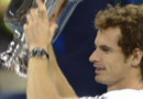 Andy Murray vainqueur de l'US OPen en septembre 2012.