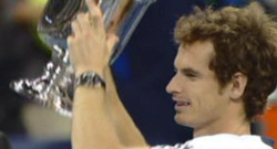 Andy Murray vainqueur de l&#039;US OPen en septembre 2012.