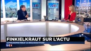 "Finkielkraut : ""il est indispensable de bombarder Raqqa"""
