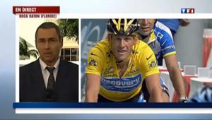 """La chute d'Armstrong, """"un choc brutal"""""""