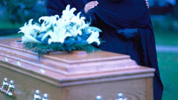 Un cercueil/Image d'archives