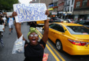 A New York, une manifestation contre les violences policières.