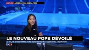 Bercy devient AccorHotelsArena pour rivaliser avec les plus grandes salles du monde