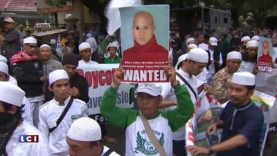 Des manifestations anti-rohingyas en Birmanie