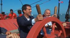 """Le 20 heures du 29 août 2015 : Valls, capitaine de la """"barre"""" socialiste - 1422"""