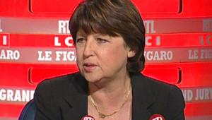 Martine Aubry au Grand jury RTL-LCI-Le Figaro (2 novembre 2008)