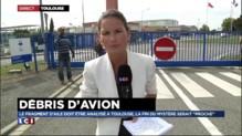 MH370 : le fragment d'aile est arrivé au laboratoire d'analyses de Toulouse