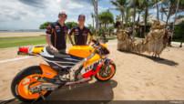 MotoGP 2015 - Honda présentation - Marc Marquez - Dani Pedrosa