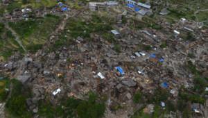 Népal : village de Kerauja après le séisme du 25/4/15