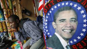 obama ghana effigie