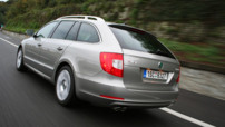 Skoda Superb Combi 2.0 TDI 170 4X4 : break de charge