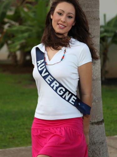 Miss Auvergne 2009 - Mégane Potier : candidate Miss France 2010