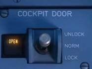 Commande de verrouillage d'un cockpit