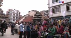 Le 20 heures du 25 avril 2015 : Plus d'un millier de morts après un violent séisme au Népal - 171.92299999999994