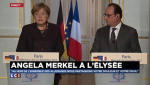 """Merkel : """"Nous allons prendre davantage de responsabilités"""""""