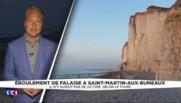 Seine-Maritime : prudence, le risque d'effondrement des falaises aggravé par les fortes chaleurs