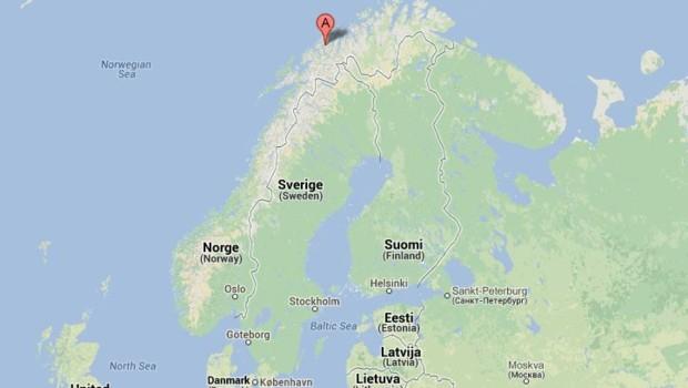 Tromsoe dans le Grand Nord norvégien