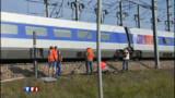 400 passagers bloqués après un choc TGV-voiture
