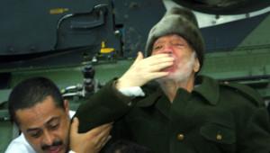 Archives : l'une des dernières photos de Yasser Arafat, 29/10/2004