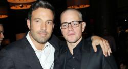 Ben Affleck et Matt Damon à l'avant-première du film Argo à New York en octobre 2012