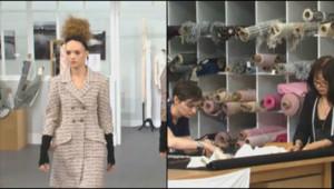 Défilé Chanel lors de la Fashion Week (06/07)