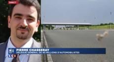 """Gel des tarifs autoroutiers :""""un symbole politique extrêmement fort"""", pour Pierre Chasseray"""