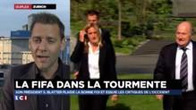 Sepp Blatter, favori de l'élection, malgré le scandale à la Fifa