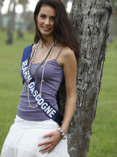 Miss Bearn Gascagone 2009 - Bories Marine : candidate Miss France 2010