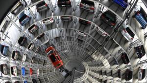 L'usine Volkswagen à Wolfsburg, dans le nord de l'Allemagne