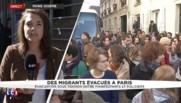 Une étude au cas par cas pour reloger les migrants évacués du lycée Jean-Jaurès à Paris