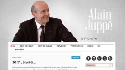 alain juppé blog annonce candidature primaire ump
