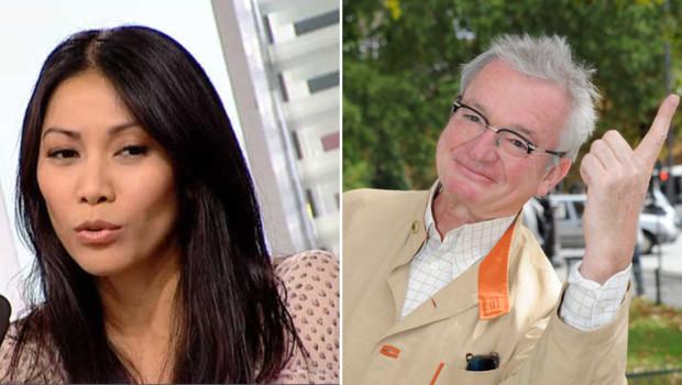 Anggun et Jean-Luc Petitrenaud (montage)