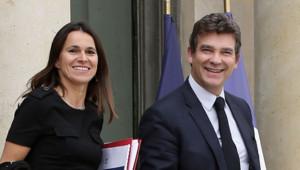 Aurélie Filippetti et Arnaud Montebourg