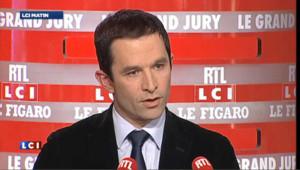 """Hamon : """"oui Marine Le Pen peut-être au 2nd tour"""""""