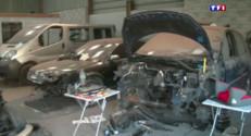 Le 20 heures du 17 avril 2015 : Ces voitures volées qui finissent en pièces détachées - 1020.142