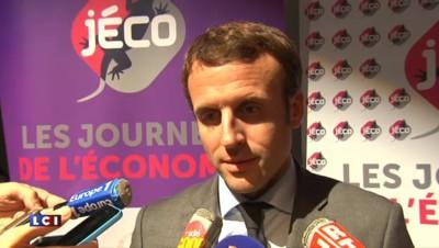 """Macron : """"La France a trop peur du changement parce qu'elle reste une société défiante"""""""