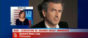 """L'exécution de Sakineh n'a pas eu lieu"", selon BHL"