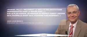 La gauche se divise sur la laïcité : bras de fer entre Bianco et Valls