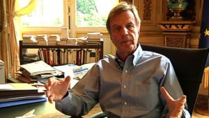 Bernard Kouchner, ministre des Affaires étrangères