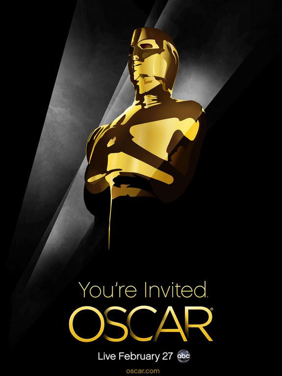 L'affiche de la 83e cérémonie des Oscars 2011