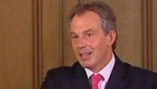 TF1-LCI - Tony Blair, en août 2005
