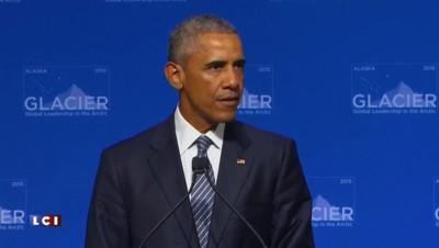 """COP 21 : """"L'activité humaine dérègle le climat plus rapidement que prévu"""" assure Obama"""