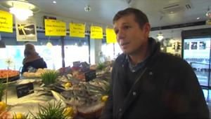 Le 13 heures du 2 janvier 2015 : Le poisson, un aliment privilégié après les excès des fêtes - 309.6972589111328